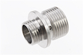 Dynamic Precision Stainless Steel Silencer Adapter M11 CW to M14 CCW - Silver