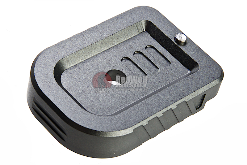 Dynamic Precision Instinct Mag Base Type A for Tokyo Marui Hi-Capa Series GBB Pistol - Grey