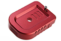 Dynamic Precision Instinct Mag Base Type B for Tokyo Marui Hi-Capa Series GBB Pistol - Red