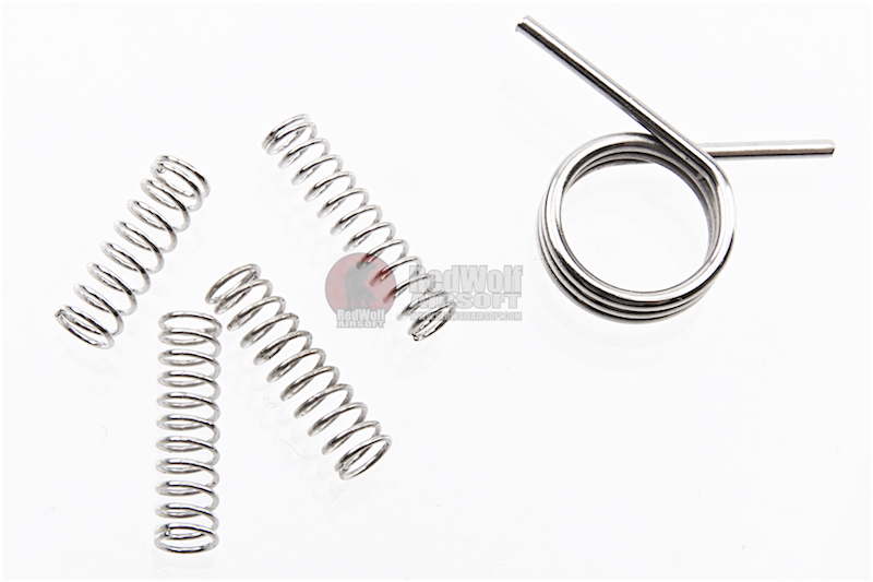 Dynamic Precision Enhanced Hammer / Sear / Trigger Spring Set for Tokyo Marui M4A1 MWS