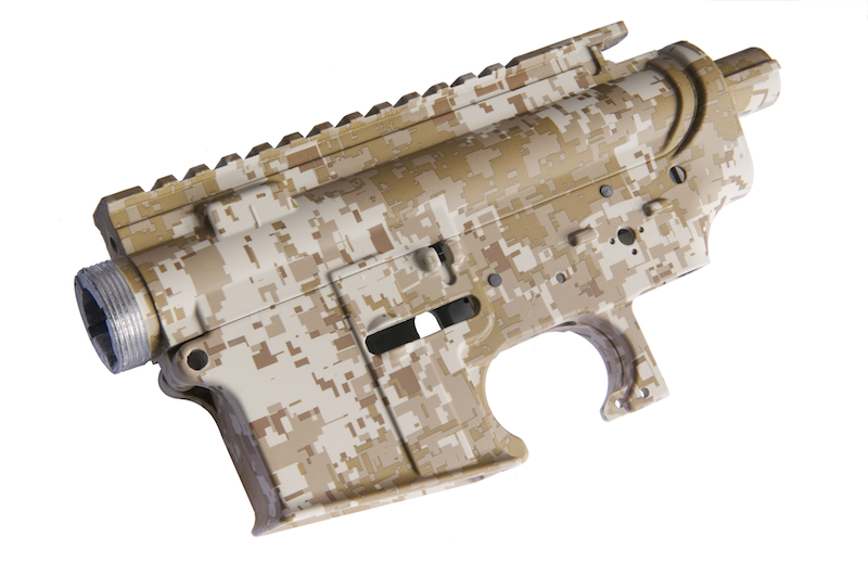 Dytac Water Transfer M4 Metal Receiver (Digital Desert)