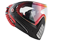Dye Precision i4 Goggle System - Dirty Bird (Red / Black)
