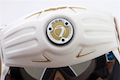 Dye Precision i5 Full Face Mask Goggle System - White Gold