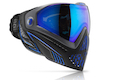 Dye Precision i5 Full Face Mask Goggle System STORM - Black / Blue