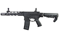 G&P Transformer Compact M4 Airsoft AEG with CQB Flashider (Folding Stock) - Black