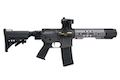 EMG Salient Arms Licensed GRY AR15 (M4) Gen.2 CQB AEG (Folding Stock) - Gray (by G&P)