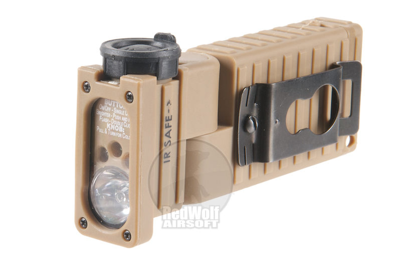 EmersonSidewinder Flashlight EM8447 <font color='red'>(Blowout Sale)</font>
