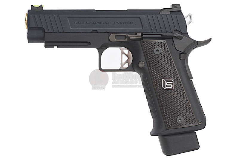 EMG SAI 4.3 Gas Blowback Pistol - Black (by AW Custom)