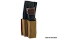 Esstac 5.56 1+1 KYWI Shorty Magazine Pouch - Coyote Brown