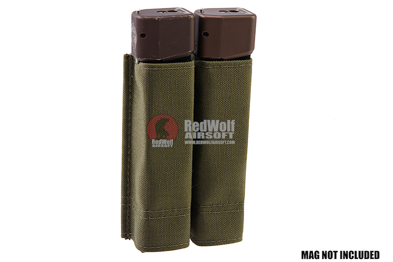 Esstac Glock (33rds) and Colt Style Double KYWI Pouch - Ranger Green