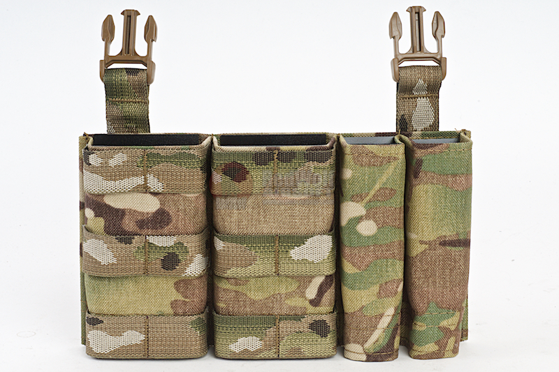 Esstac Daeodon Front Panel DBL 5.56 & 9mm - Multicam