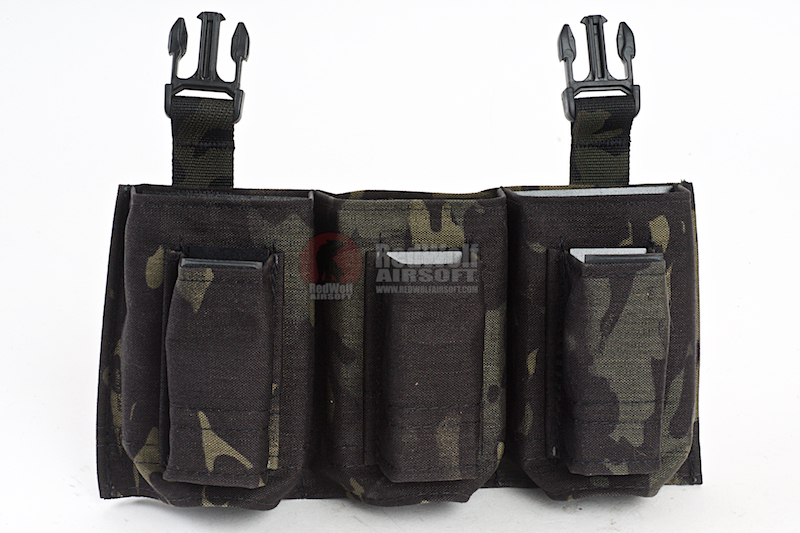 Esstac Daeodon Front Panel 3+3 9mm & 7.62 - Multicam Black