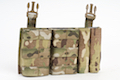 Esstac Daeodon Front Panel DBL 7.62 & 9mm - Multicam