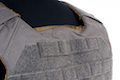 Esstac Daeodon Plate Carrier with Medium Mesh Cummerbund - Wolf Grey