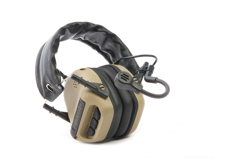 Roger Tech EVO406-B Electronic Hearing Protection (Bluetooth Version) - Desert Tan
