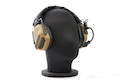 Roger Tech EVO406-B Electronic Hearing Protection (Bluetooth Version) - Flat Dark Earth