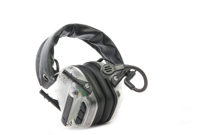 Roger Tech EVO406-B Electronic Hearing Protection (Bluetooth Version) - Transparent Limited Edition