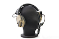 Roger Tech EVO406-C Electronic Hearing Protection (AUX-Wired Version) - Desert Tan