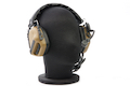 Roger Tech EVO406-C Electronic Hearing Protection (AUX-Wired Version) - Flat Dark Earth