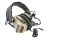 Roger Tech EVO406-UE Ultimate Edition Electronic Hearing Protection (Bluetooth & AUX Wired Version) - Desert Tan