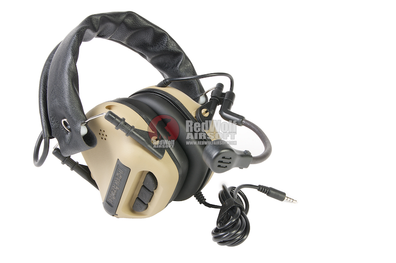 Roger Tech EVO406-UE Ultimate Edition Electronic Hearing Protection(Bluetooth AUX Wired)-Desert Tan