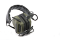 Roger Tech EVO406-UE Ultimate Edition Electronic Hearing Protection (Bluetooth & AUX Wired Version) - Olive Drab