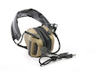 Roger Tech EVO409 Electronic Hearing Protection (U174 / Neuxs TP-120 Version) - Desert Tan