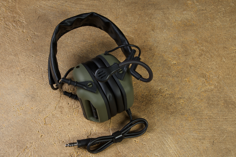 Roger Tech EVO409 Electronic Hearing Protection (U174 / Neuxs TP-120 Version) - Olive Drab