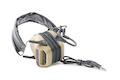 Roger Tech EVO409-UE Electronic Hearing Protection (Bluetooth Version) - Desert Tan