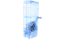 WoSport 1000rds M4 Speedloader for M4 AEG Magazine - Transparent Blue