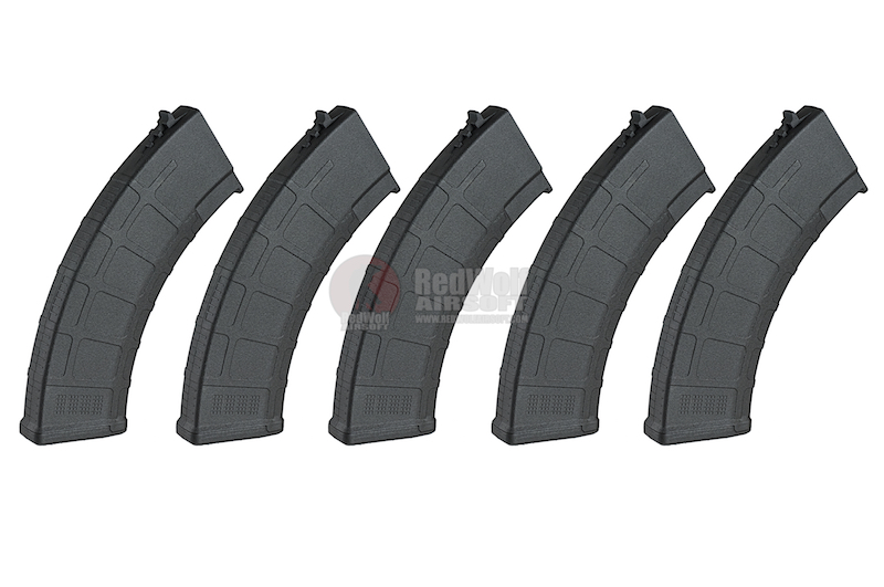 EXP Mag King 180rds AKM Magazine for AK AEG Series (5pcs / Box) - Black