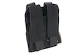 Flash Force Industries (FFI) Double Pistol Magazine Pouch - Black
