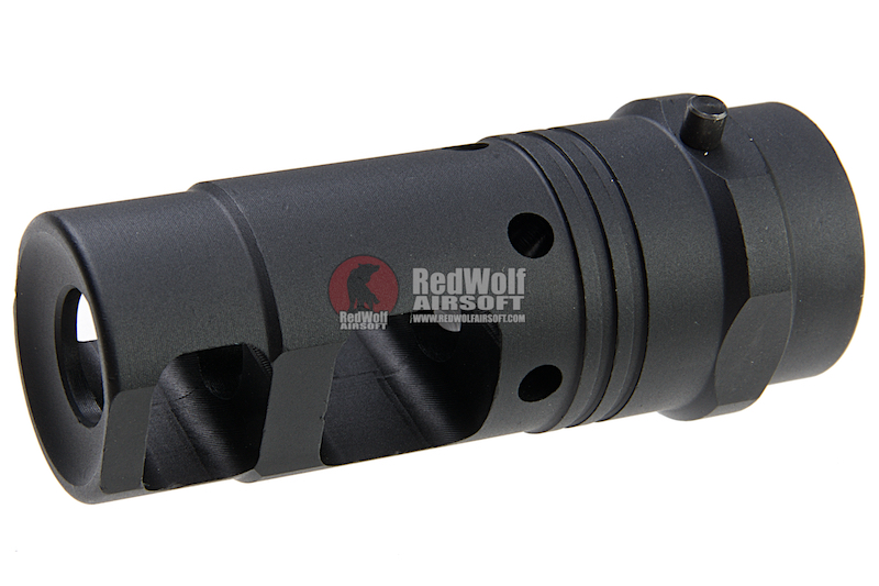 ARES M4 Aluminum Flash Hider (14MM CW) for Blast Shield -Type C