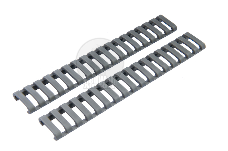 Ergo 18-Slot Ladder LowPro Rail Cover, package of 2 covers (olive drab)