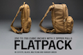 Haley Strategic FLATPACK Expandable Compact Assault Pack - Coyote