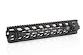 PTS Fortis REV (TM) Free Float Rail System 12 inch for M4 AEG & GBB Series - Black