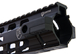 PTS Fortis REV (TM) II Free Float Rail System 12 inch M-LOK w/ Fortis Low Profile Gas Block for GBB series - Black