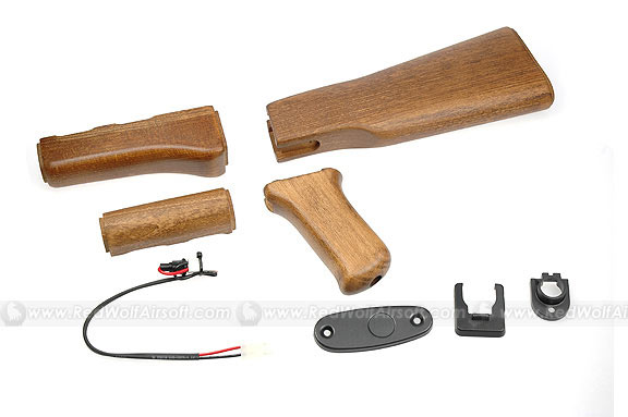 G&G Wood Stock Set for Marui AK47