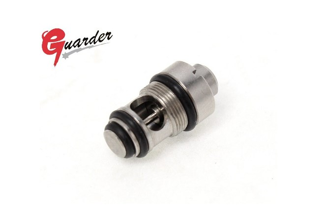 Guarder Stainless Steel High Output Valve for Tokyo Marui Hi-Capa 5.1 / 4.3 GBB Series