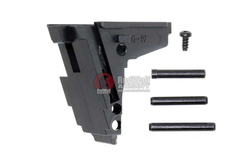 Guarder Steel Rear Chassis for Tokyo Marui G19 GBB Pistol