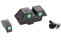 Guarder Steel Night Sight for Tokyo Marui Model 17 GBB Pistol (Green)