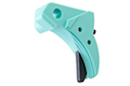 Guarder Ridged Trigger for Tokyo Marui / KJ / WE G Series GBB Pistol (Except G18C) - Robin Egg Blue