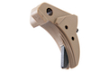 Guarder Ridged Trigger for Tokyo Marui / KJ / WE G Series GBB Pistol (Except G18C) - Tan