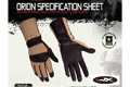 Wiley X Orion Combat Gloves (Medium /Coyote Brown)