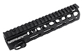 PTS Griffin Armament Low Pro Rigid 8.6 inch M-LOK Rail for M4 Airsoft AEG/ GBB/ PTW - Black