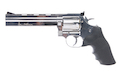 Gun Heaven ASG Dan Wesson 715 6 inch 6mm Co2 Revolver - Silver