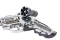 Gun Heaven ASG Dan Wesson 715 4 inch 6mm Co2 Revolver - Silver
