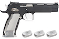 Gunsmith Bros GB01 TF Aluminum 5.5 inch GBB Pistol - Black