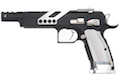 Gunsmith Bros GB01 TF Aluminum Open GBB Pistol - Black