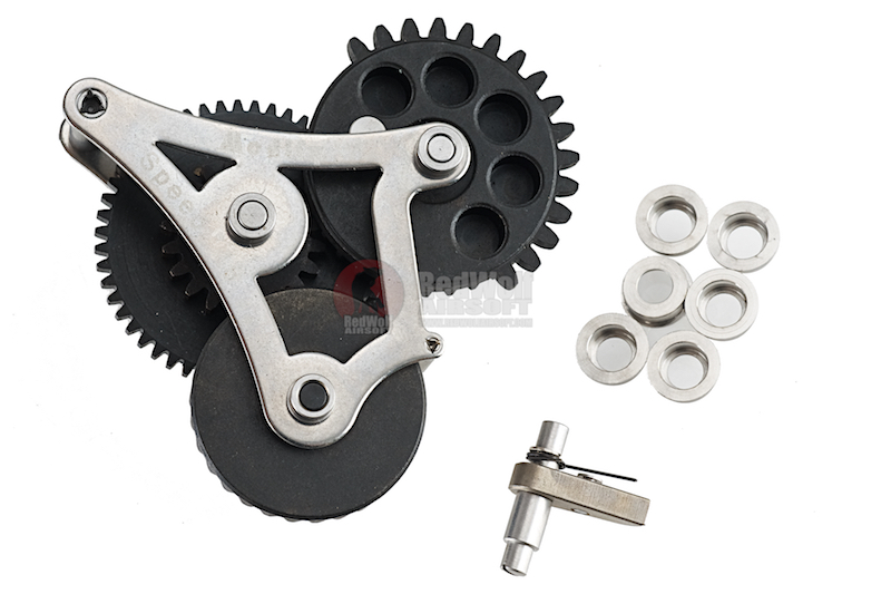 Modify Modular Gear Set 8mm for Ver.2 / Ver.3 Gearbox, Torque 21.6:1